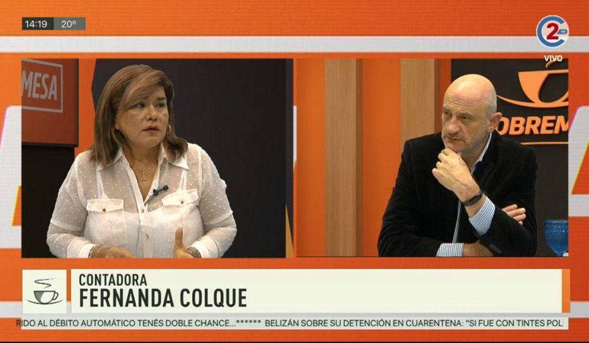 Sobremesa 21-05-20| Fernanda Colque - Contadora