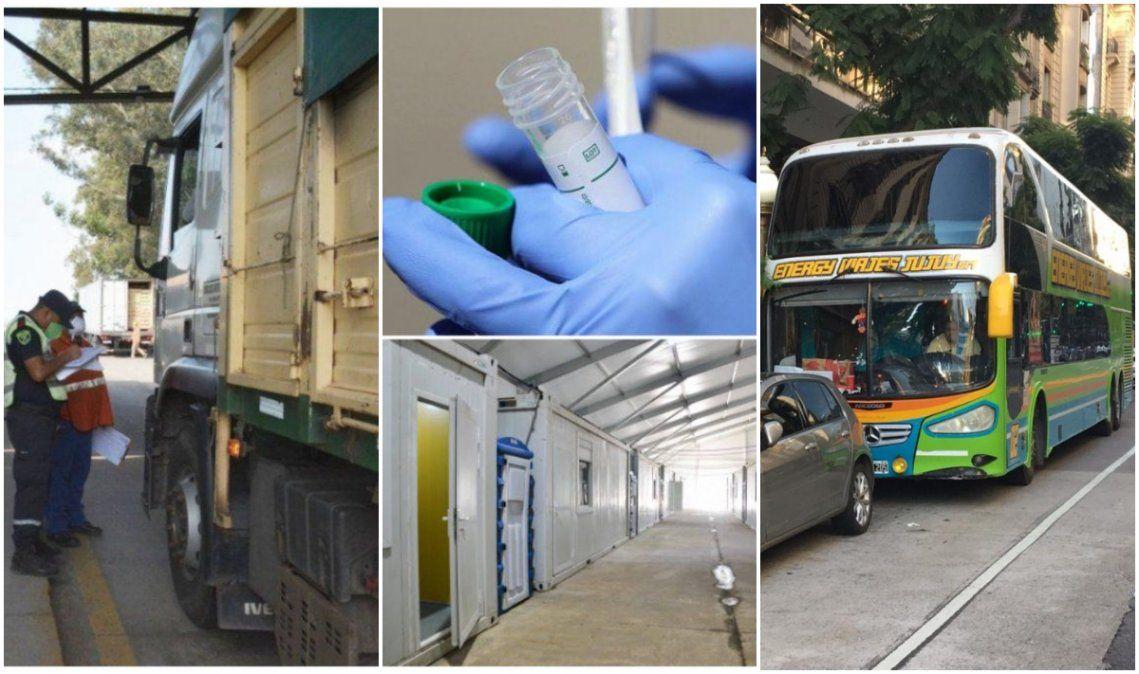 Coronavirus en Jujuy: Tercer camionero con test rápido positivo y un estudiante sospechoso