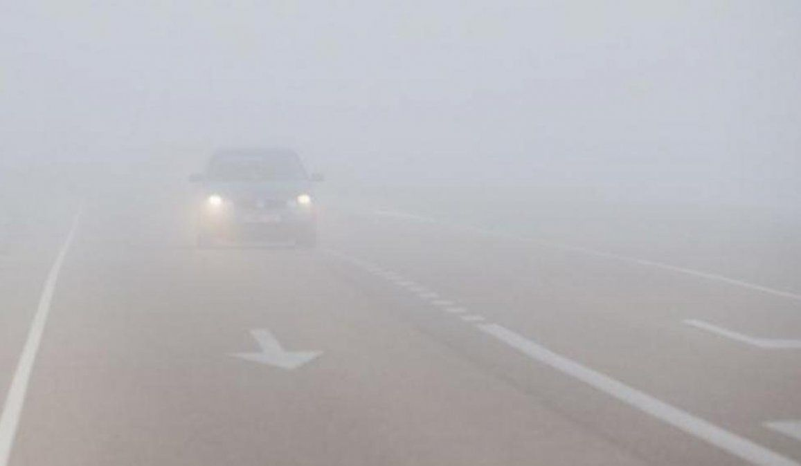 Rutas habilitadas, con precaución por neblina y lloviznas en diferentes sectores