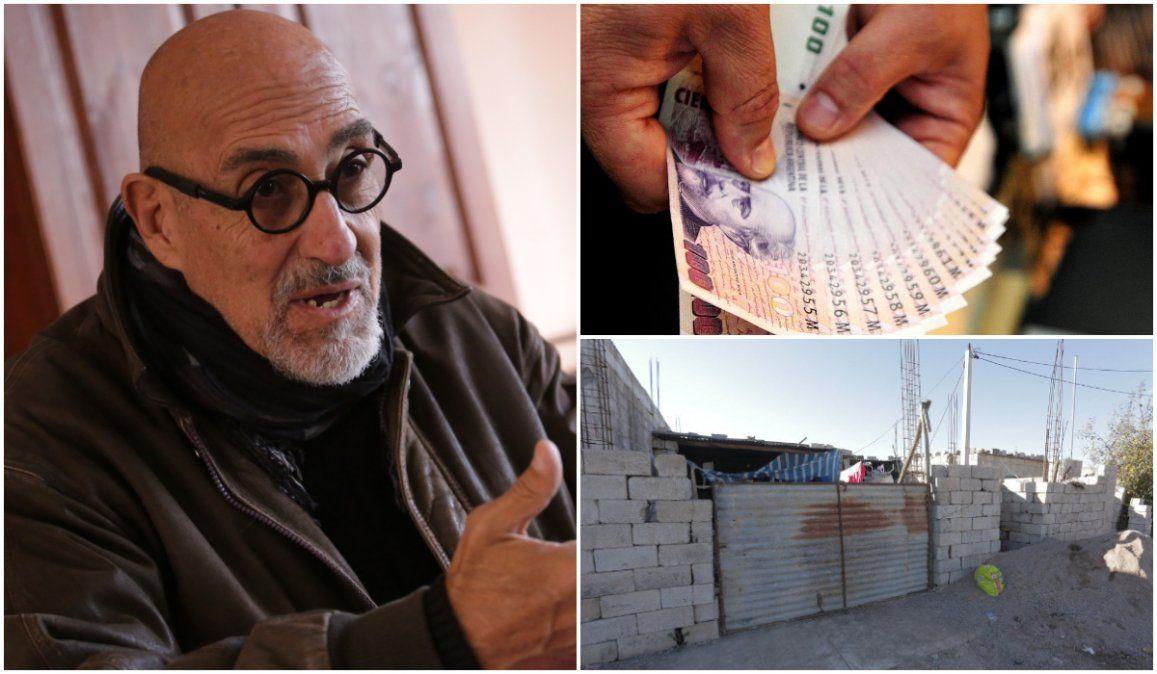 Santillán sobre salarios para no ser pobres: cobramos una miseria