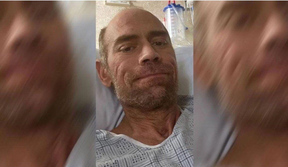 Un enfermero adelgazó 23 kilos durante su internación por coronavirus