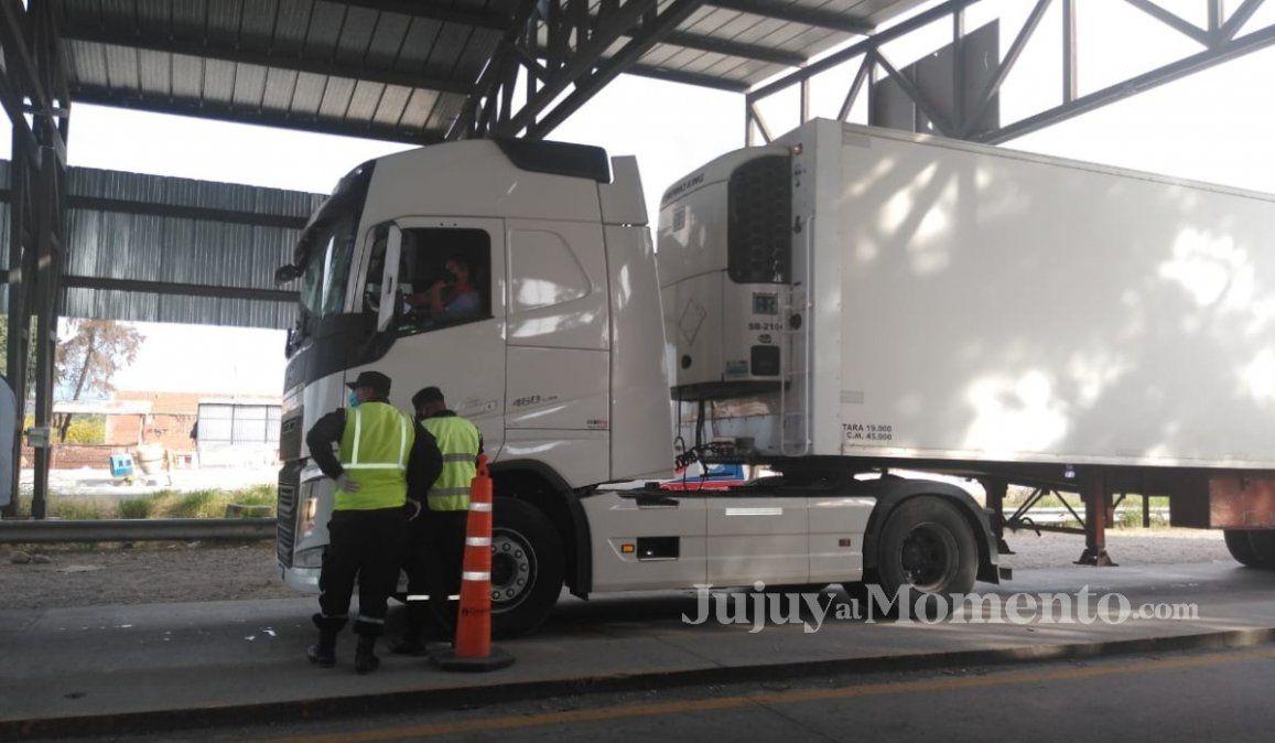 Test rápidos: Otro camionero que arrojó resultado positivo