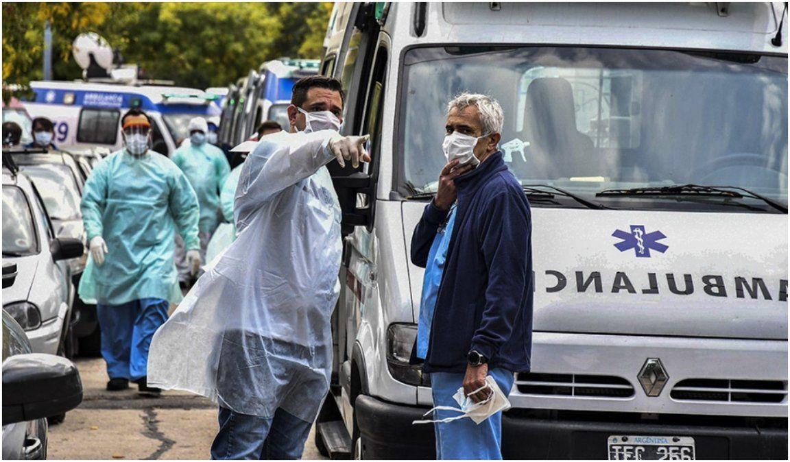 Otro récord de contagios en el país: 904 casos nuevos de coronavirus