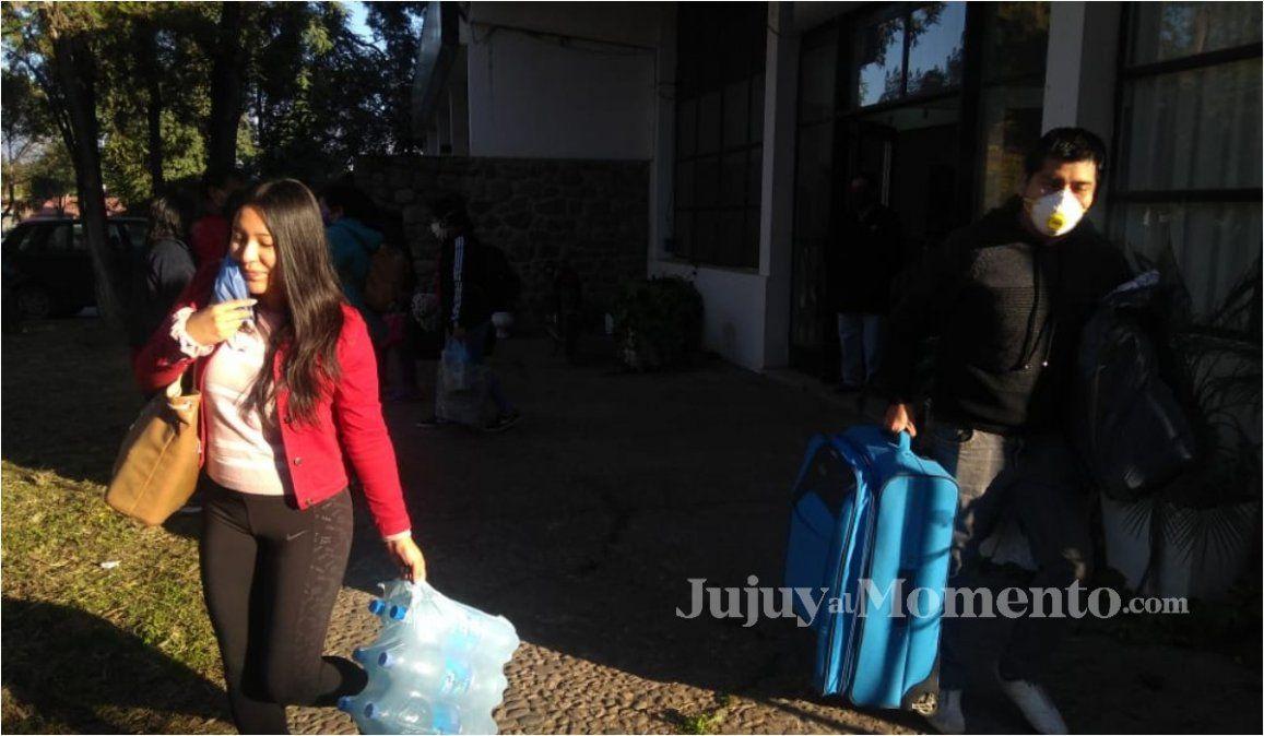 Más de 100 estudiantes jujeños terminaron la cuarentena y están sanos para volver a casa