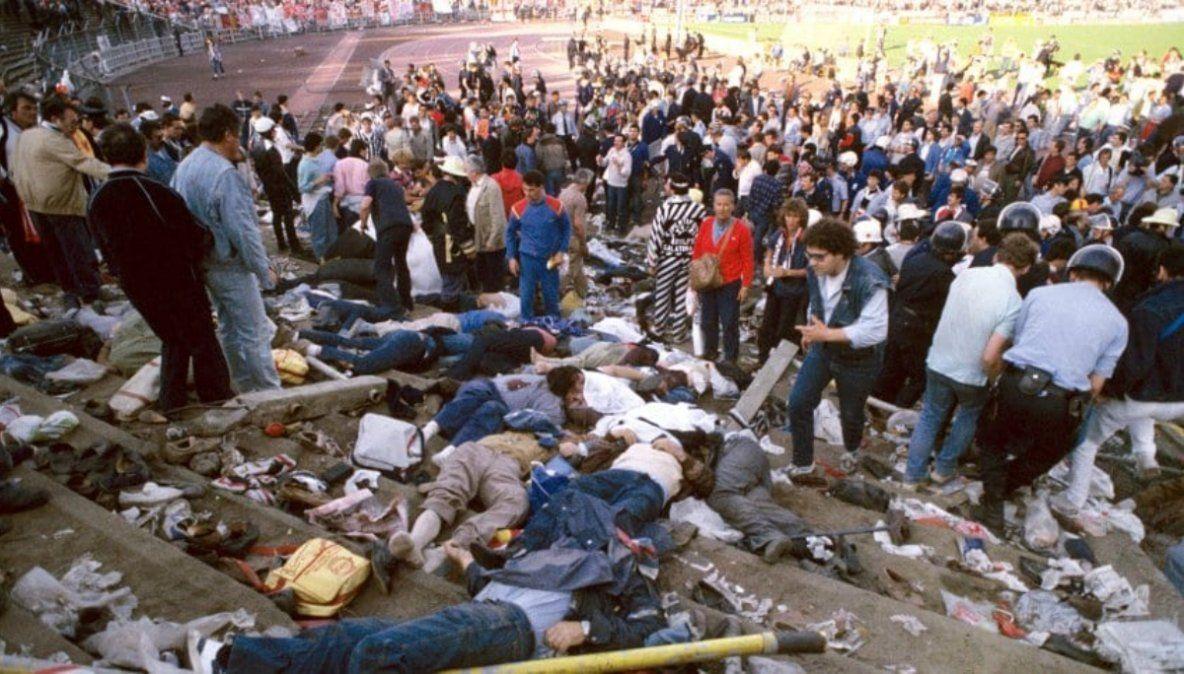 A 35 años de Heysel, la final que terminó en tragedia