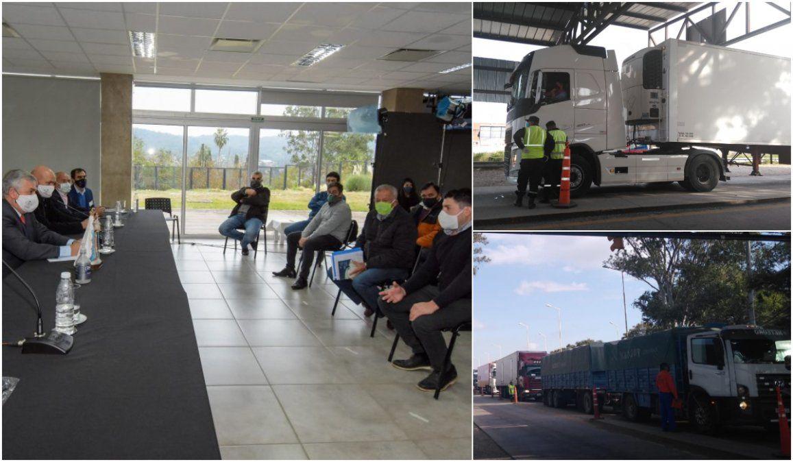 Compromiso de las empresas transportistas para cumplir los protocolos de ingreso