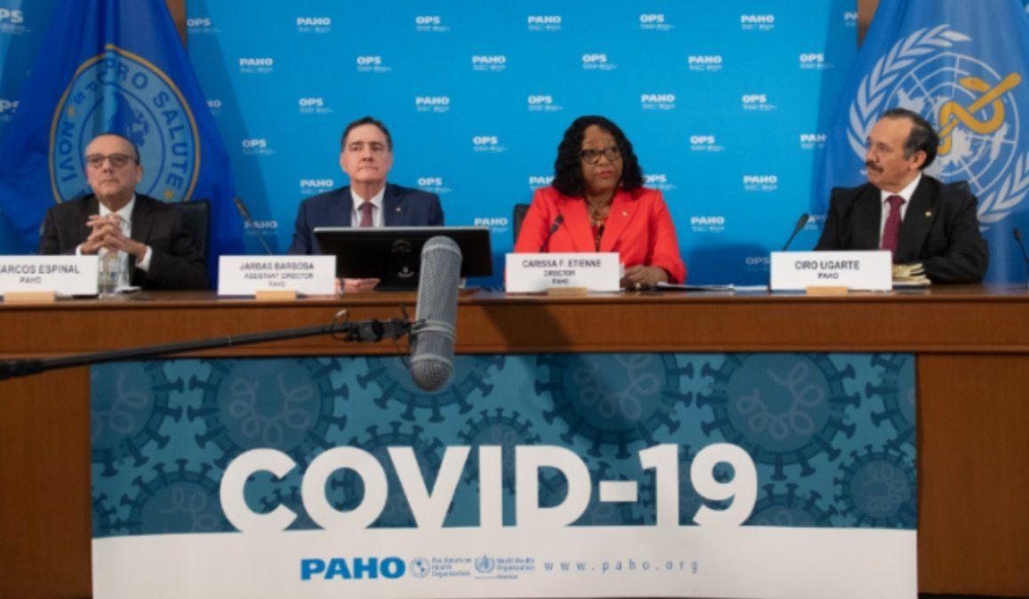 La OPS pidió a Latinoamérica que no abra demasiado rápido el confinamiento