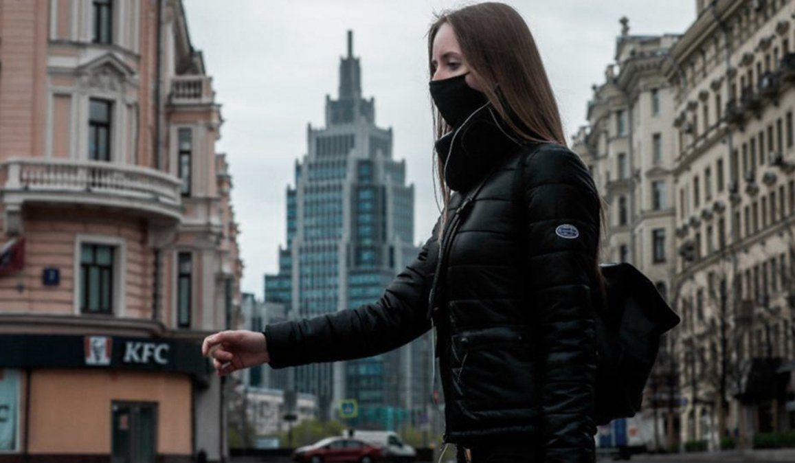 La OMS consideró que Rusia entró en fase de estabilización de la pandemia