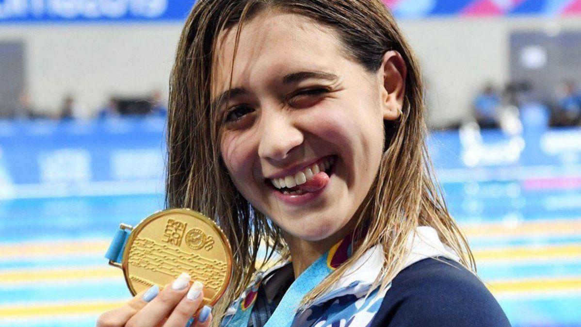Delfina Pignatiello analiza bajarse de los próximos Juegos Olímpicos