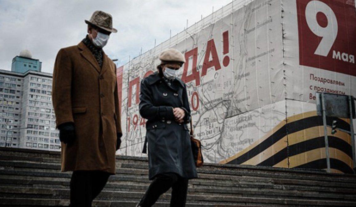 Rusia registra su segunda mayor cifra diaria de muertos por coronavirus