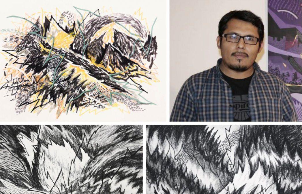 El jujeño Alejandro López fue elegido para importante Feria de Arte Virtual