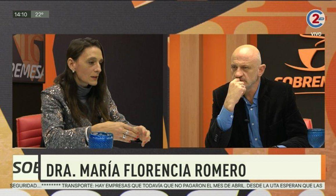 Sobremesa 24-06-20  Dr. María Florencia Romero