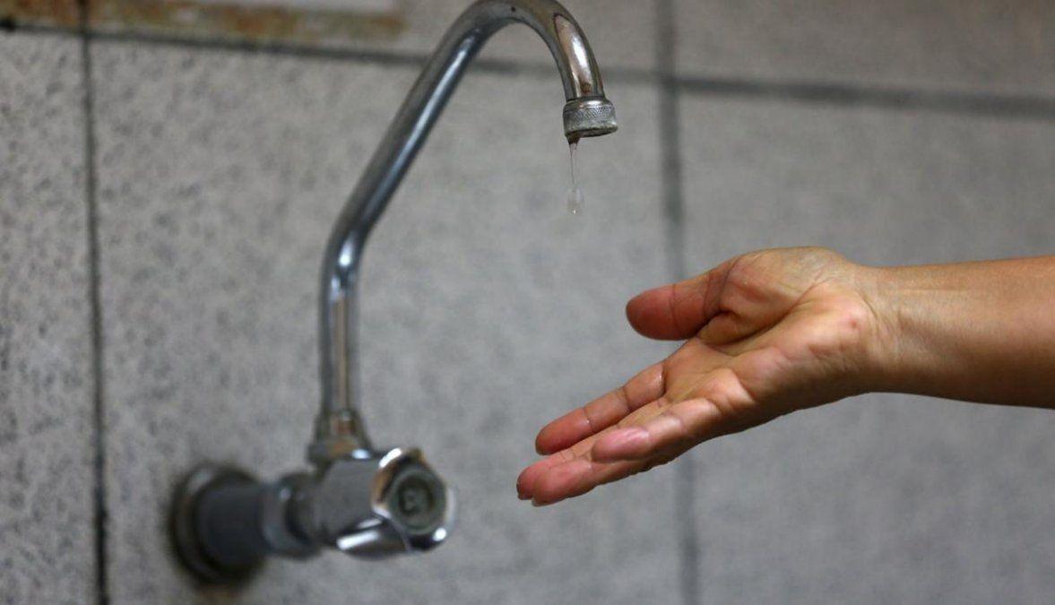 Cortes de agua en zonas de Alto Comedero