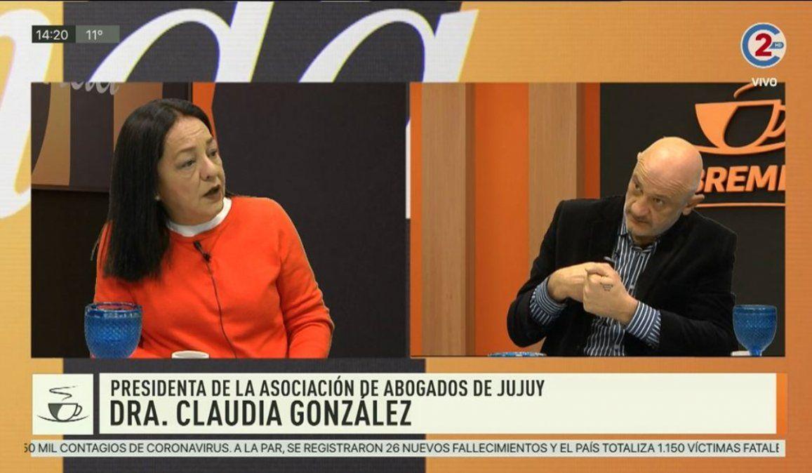 Sobremesa 26-06-20  Dr. Claudia González -Presidenta de la Asociación de Abogados de Jujuy
