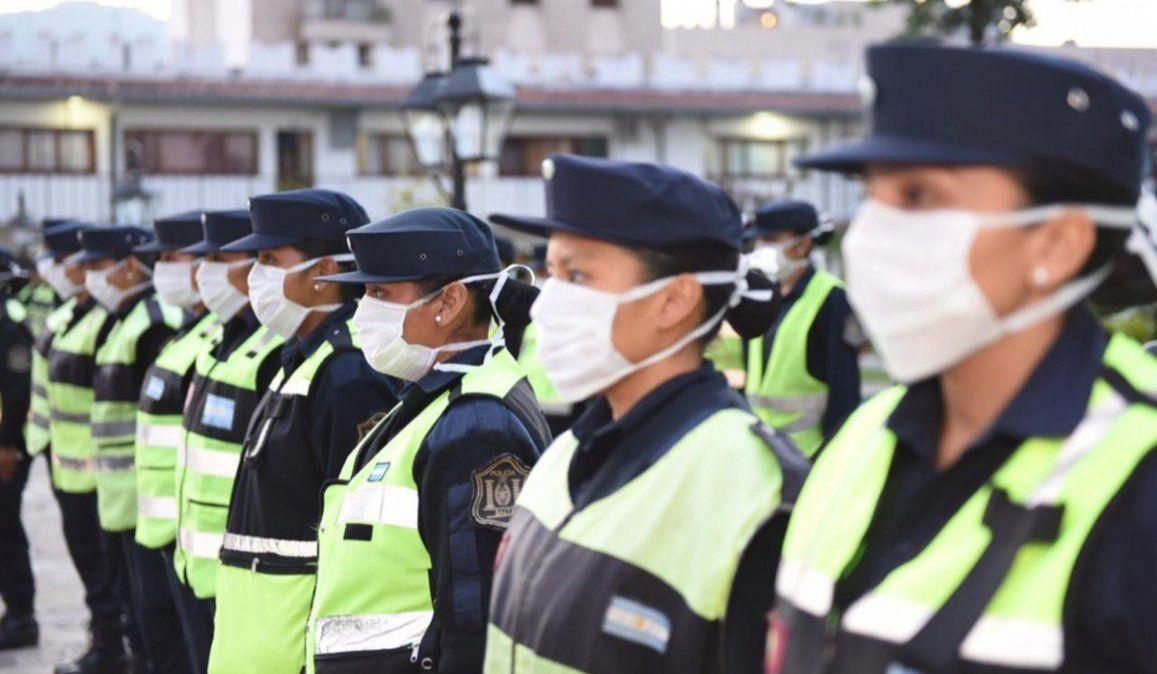 Efectivos policiales recibirán más insumos y elementos de protección