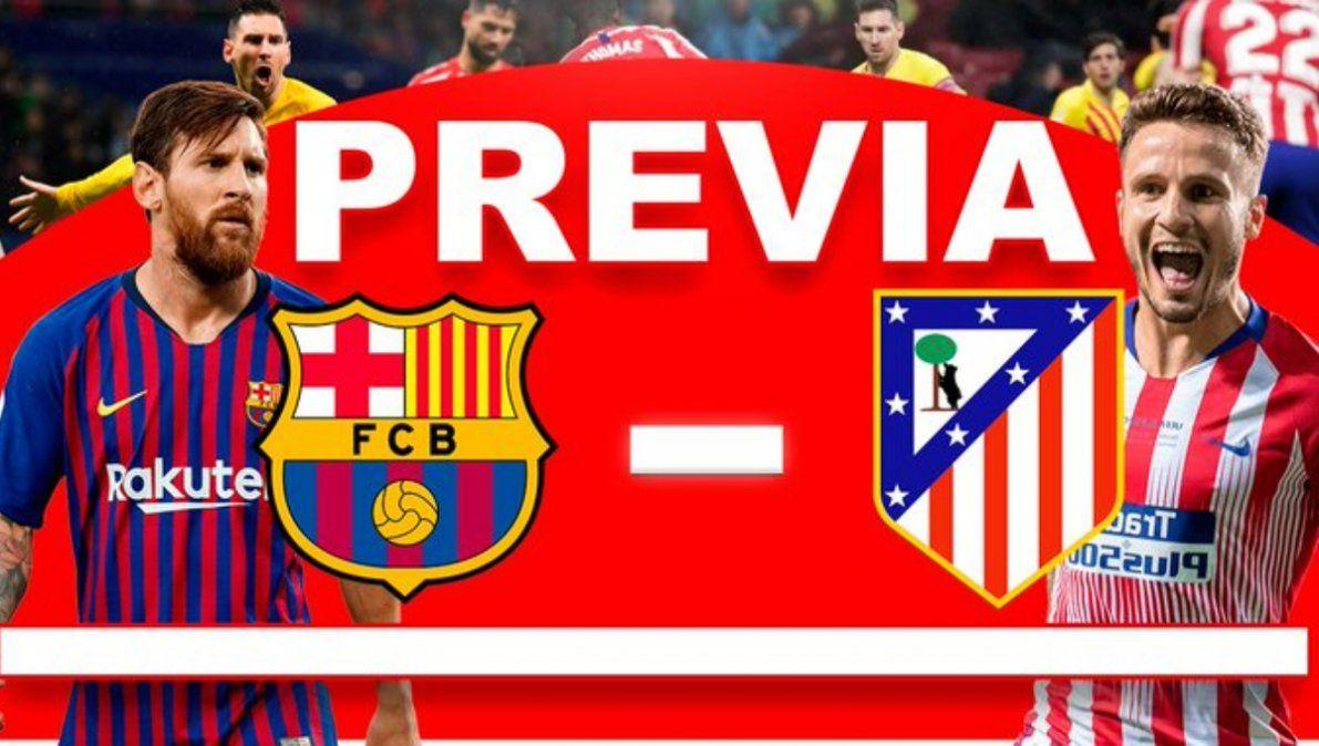 Barcelona, obligado ante el Atlético de Madrid para seguir en la pelea