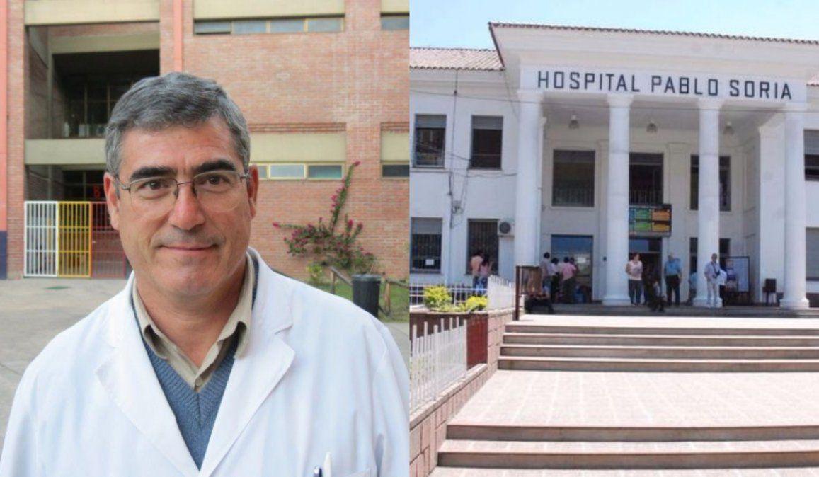 Versiones encontradas sobre una paciente con Coronavirus en el hospital Pablo Soria