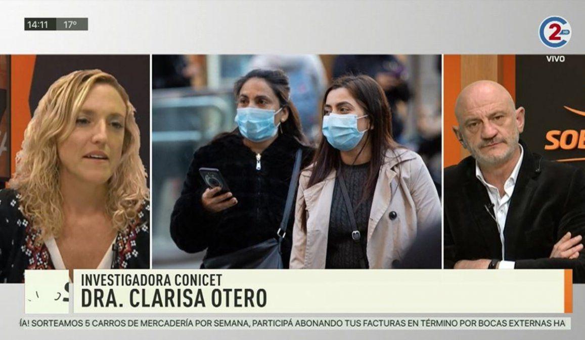 Sobremesa 30-06-20| Dra. Clarisa Otero - Investigadora CONICET
