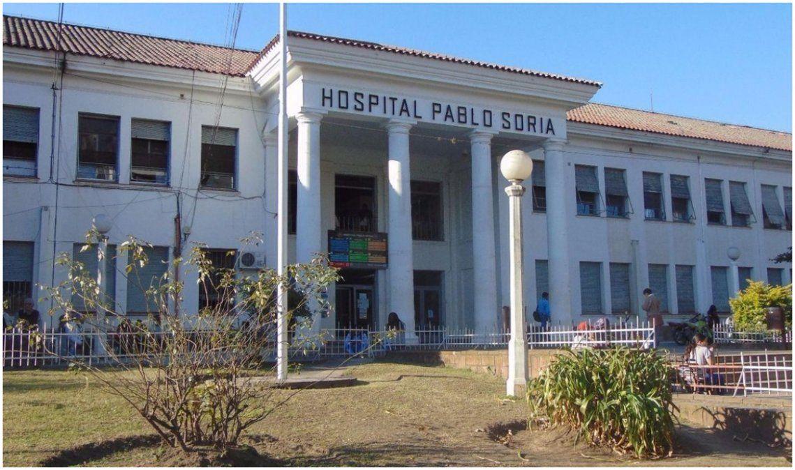 Tras los casos positivos, el Hospital Pablo Soria suspende cirugías y consultorios externos