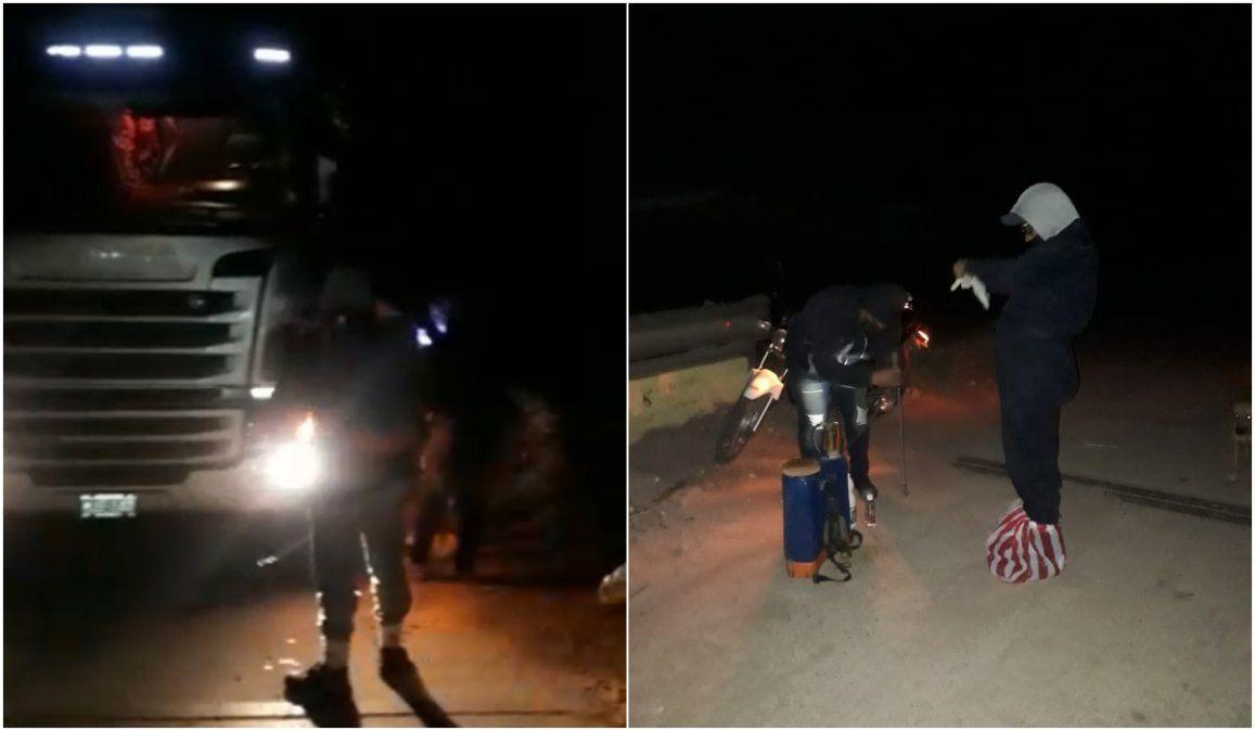 Vinalito: Un pueblo con dos policías que no puede contener el paso de camiones