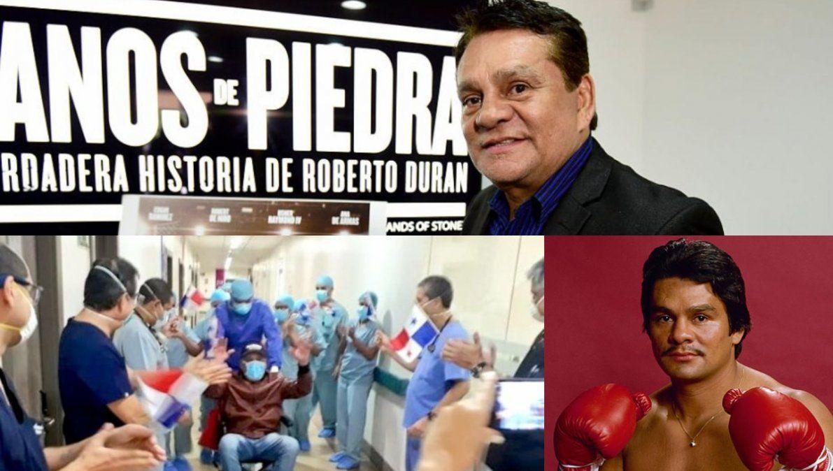 Emotivo video de Durán tras ganarle al coronavirus: Fue una pelea mundial