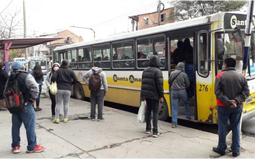 Este sábado se reanuda el transporte pero con servicio reducido