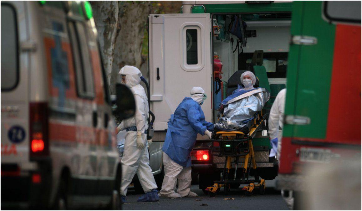 Argentina reportó 2.590 casos y ya son más de 75.000 los contagiados