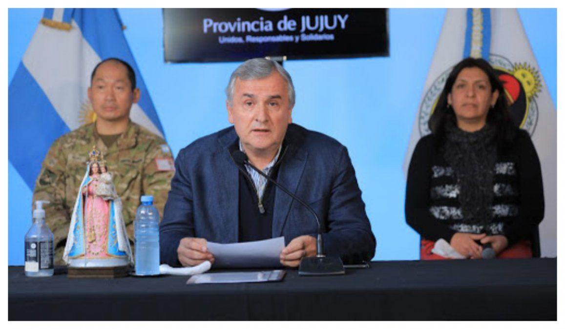 Jujuy registró 46 nuevos casos y 1 nuevo fallecido y se flexibilizaron actividades