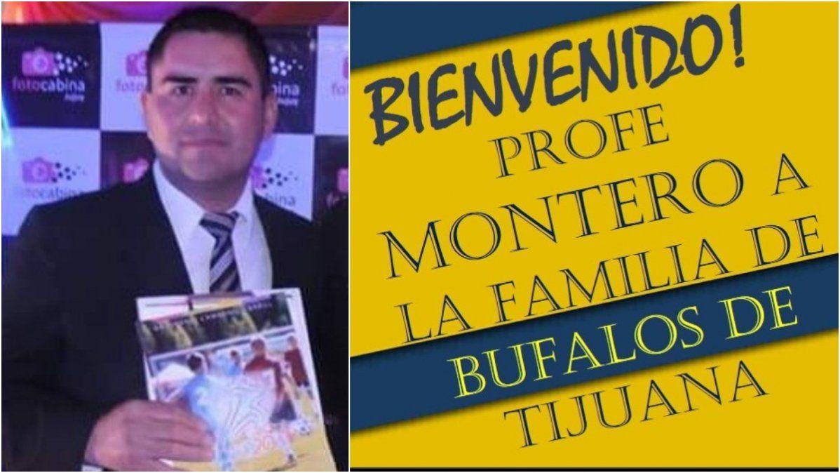 El jujeño Monteros, flamante entrenador sub 17 de Búfalos de Tijuana