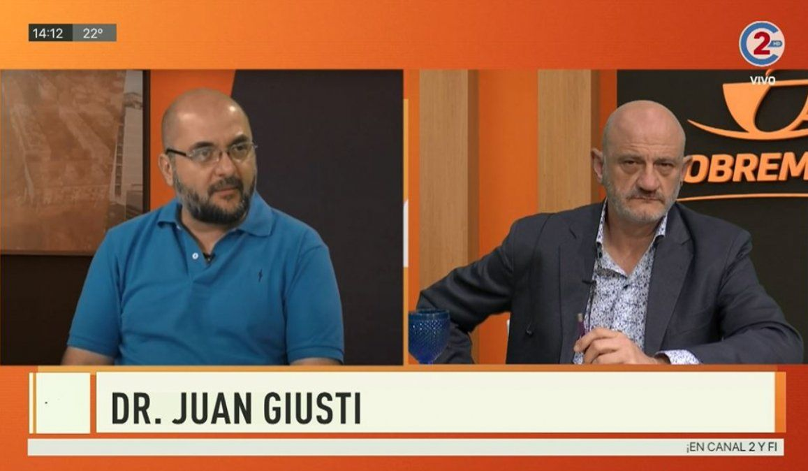 Sobremesa 10-07-20| Dr. Juan Giusti
