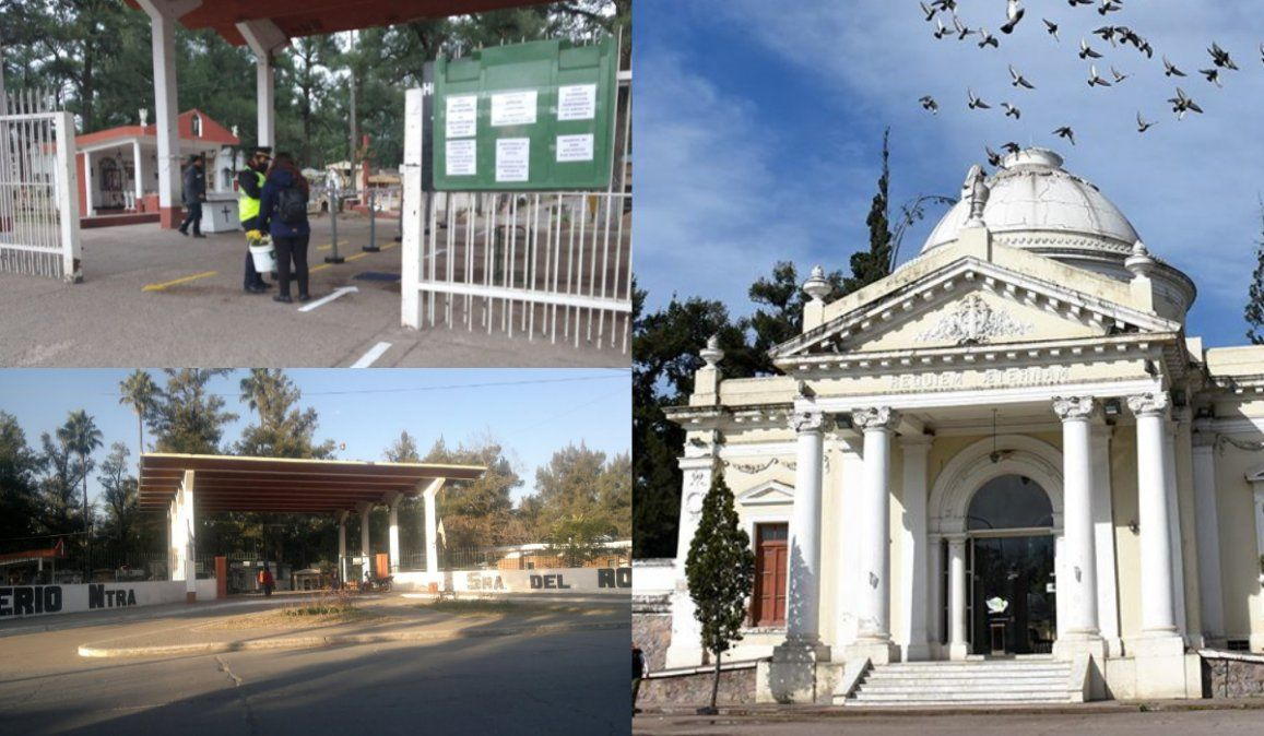 Por el Día del Padre, se permitirán las visitas a cementerios