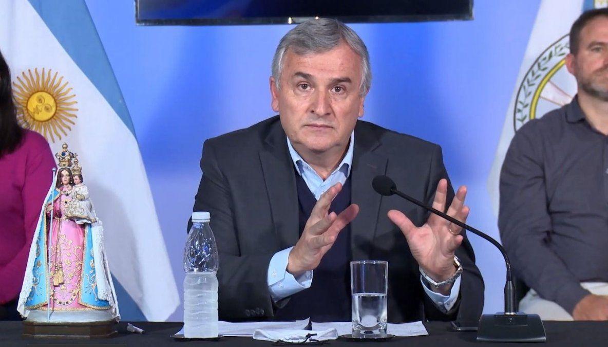 Gerardo Morales: no estamos escondiendo bajo la alfombra la realidad