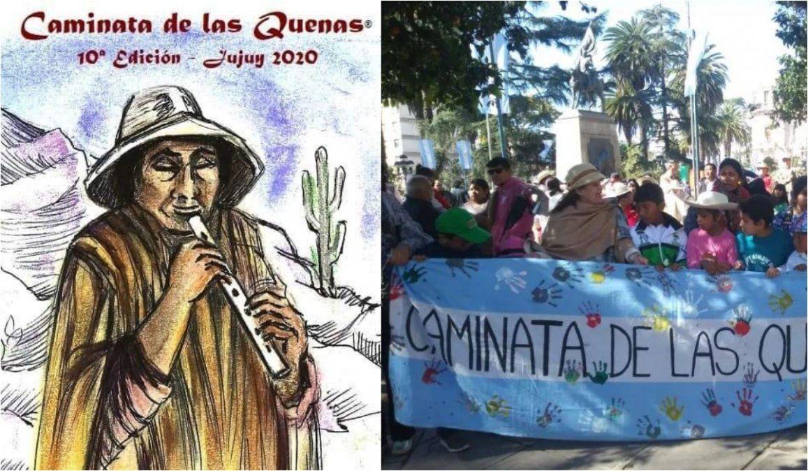 Caminata de las Quenas cumple 10 años y lo celebrará de manera virtual