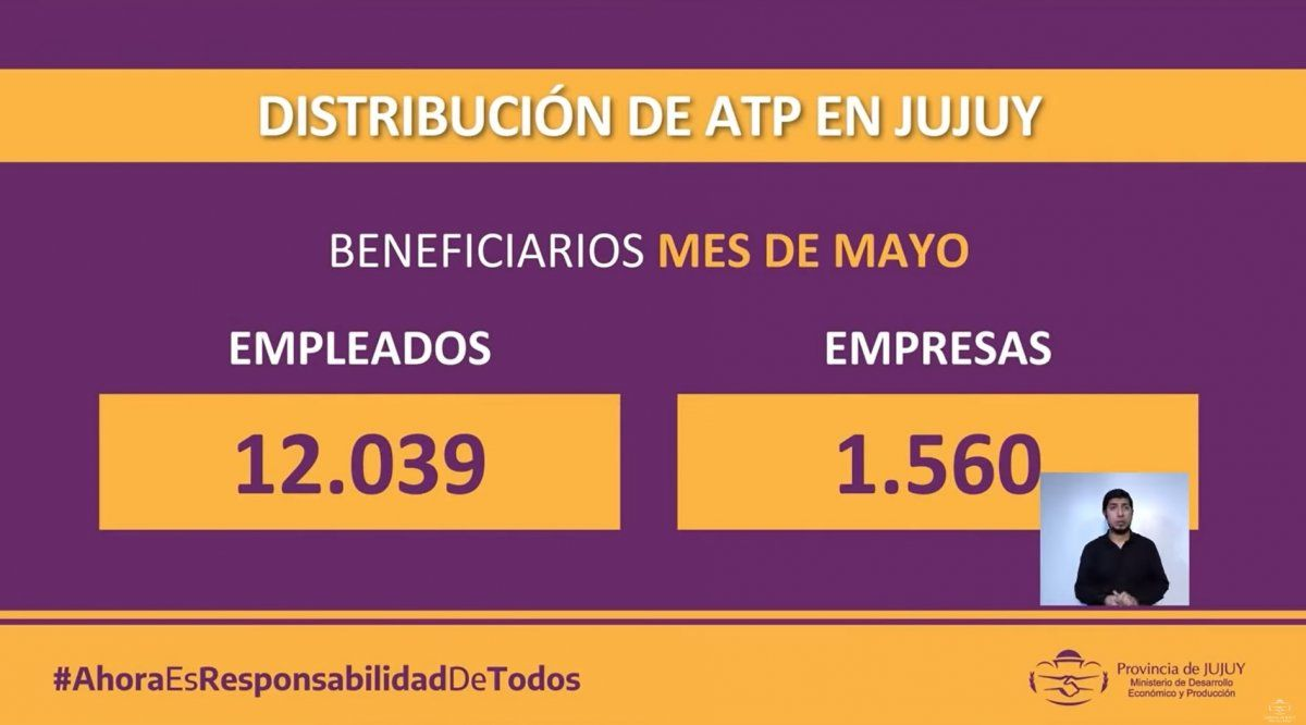 El ministro Lello habló de la caída de la economía en Jujuy