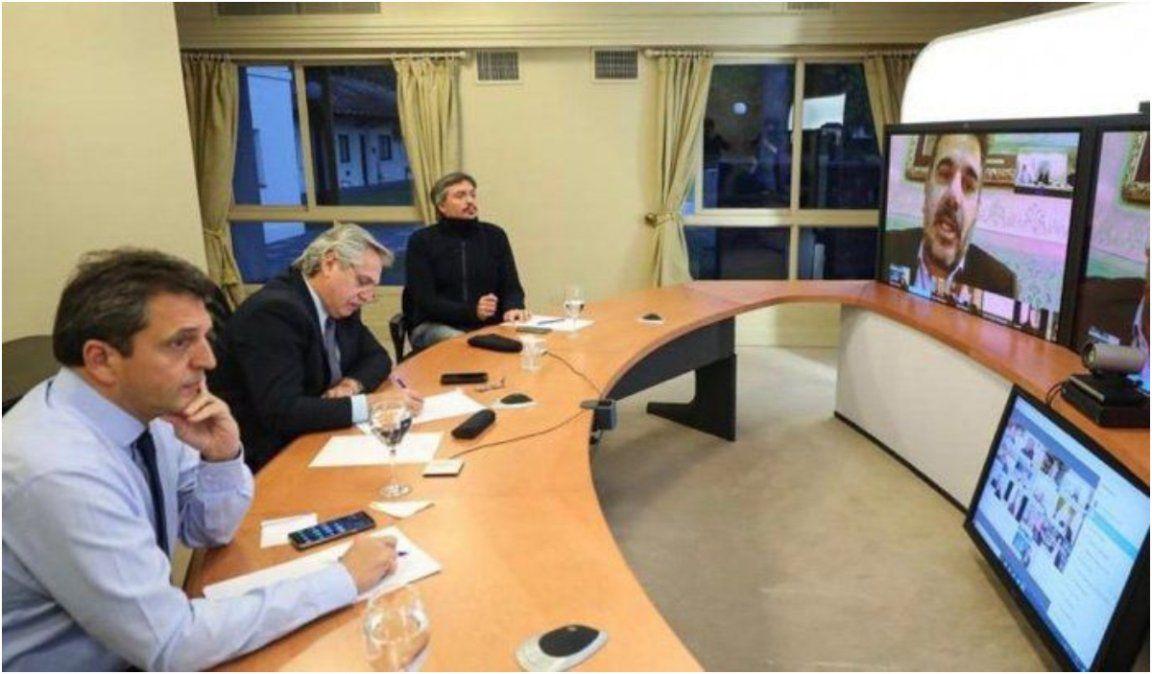 Alberto reinvidicó el diálogo con la oposición y se quejó de las marchas anticuarentena