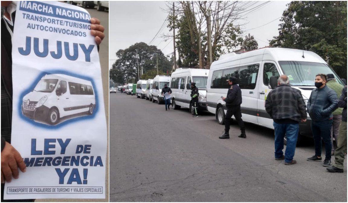 Con 40 trafics, empresas de transporte de turismo pidieron una ley de emergencia