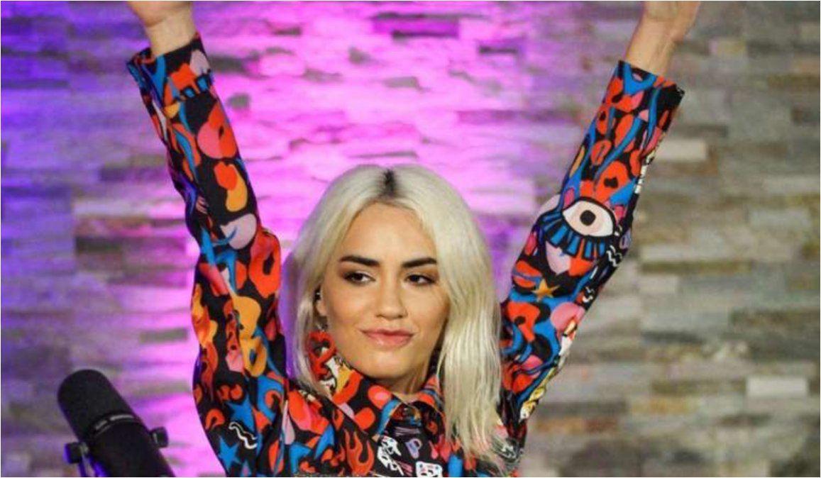 Lali Espósito, conmovida tras batir un récord de audiencia con un show virtual