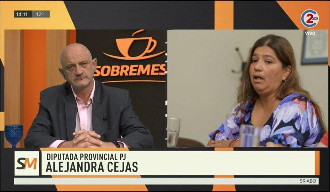 Sobremesa 14-07-20| Alejandra Cejas - Diputada Provincial PJ
