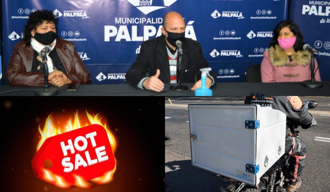 Anunciaron la plataforma para el Hot Sale palpaleño