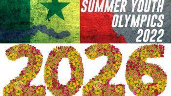 El COI pospuso cuatro años los Juegos Olímpicos de la Juventud de Dakar