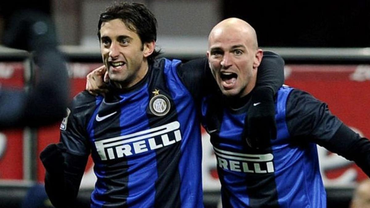 Cambiasso y Milito, al Salón de la Fama del Inter