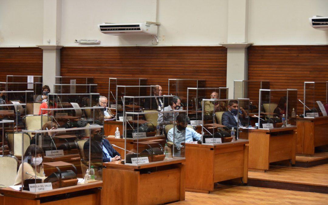 La Legislatura vuelve a sesionar en torno a proyectos del Ejecutivo