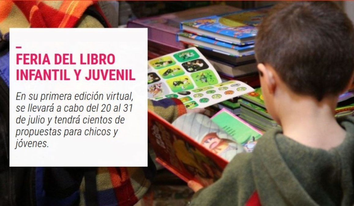 Comienza la edición virtual de la Feria del Libro Infantil y Juvenil