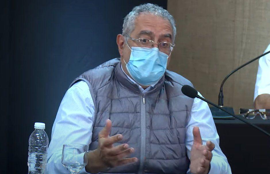 Gustavo Bouhid, Gesundheitsminister beim COE