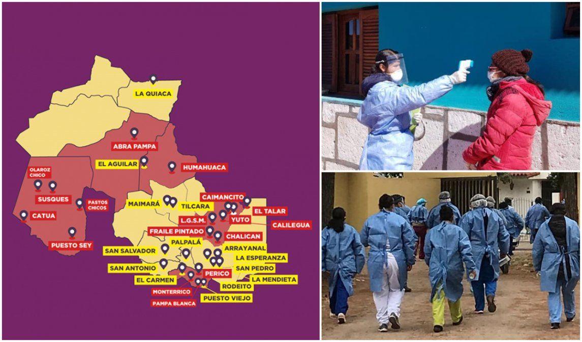Coronavirus: Jujuy está en el quinto lugar del país en cantidad de casos