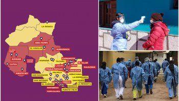 Jujuy superó a Córdoba y ya es la tercer provincia con más casos de coronavirus