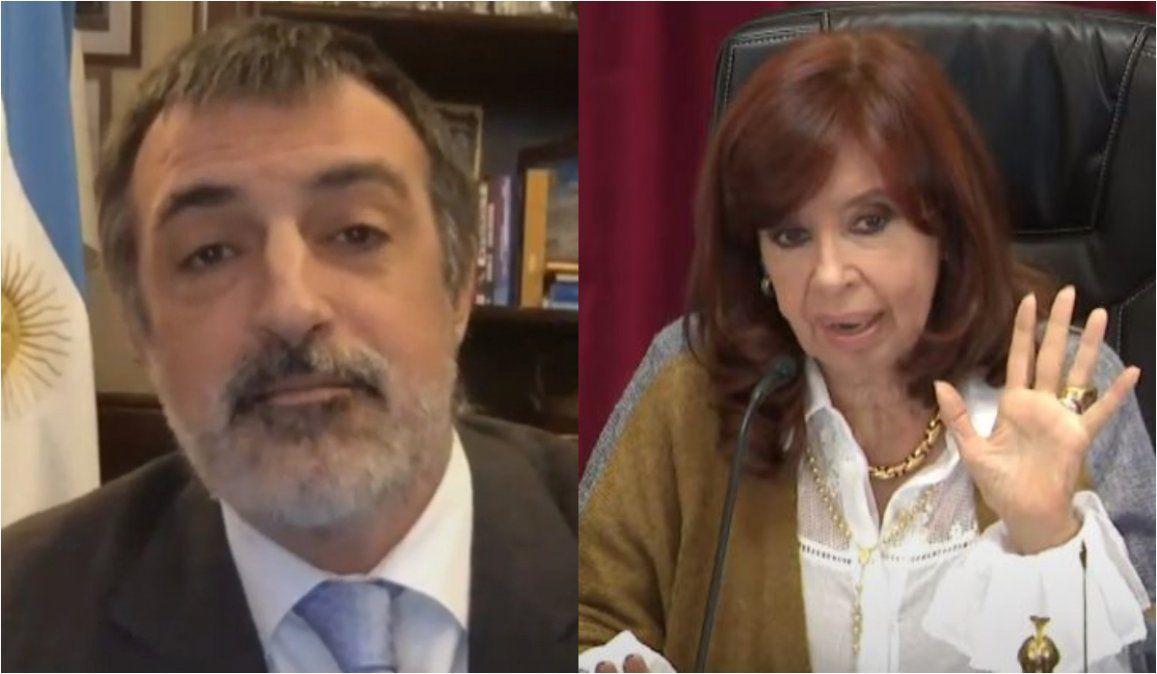 Cortale la palabra: Cristina Kirchner volvió a silenciar a un senador en pleno debate