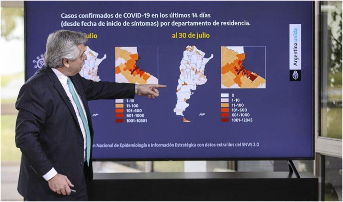 Jujuy, uno de los ejemplos que usó Alberto para mostrar el abrupto incremento de contagios