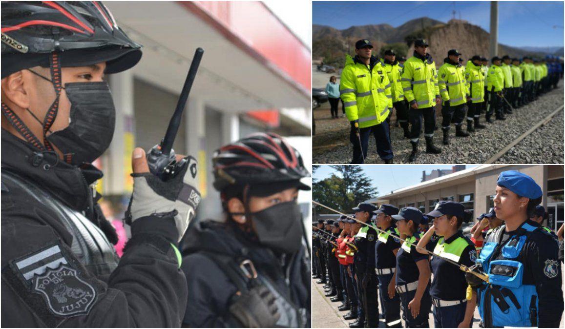 La Policía de Jujuy cumple 175 años al servicio de la comunidad