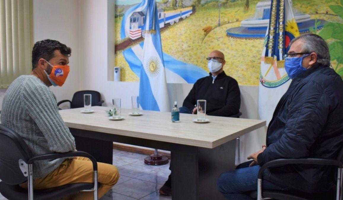 Demarco recibió a Morales: Delinearon acciones para contener el brote de coronavirus en Perico